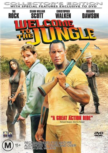 Welcome to the Jungle DVD Region 4 NEW