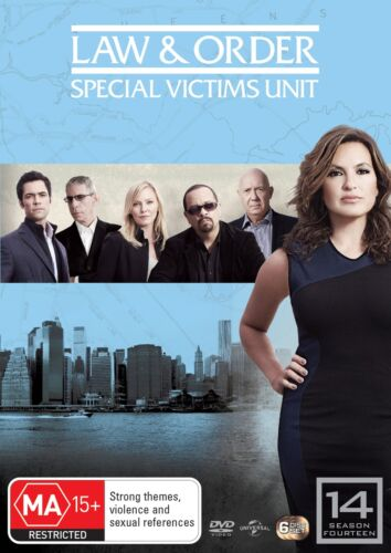 Law and Order Special Victims Unit Season 14 DVD Region 4 NEW