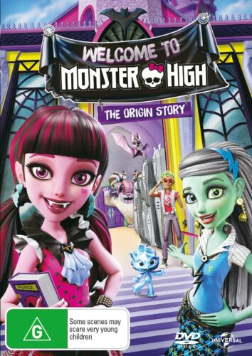 Monster High Welcome to Monster High DVD Region 4 NEW