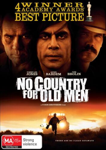 No Country for Old Men DVD Region 4 NEW
