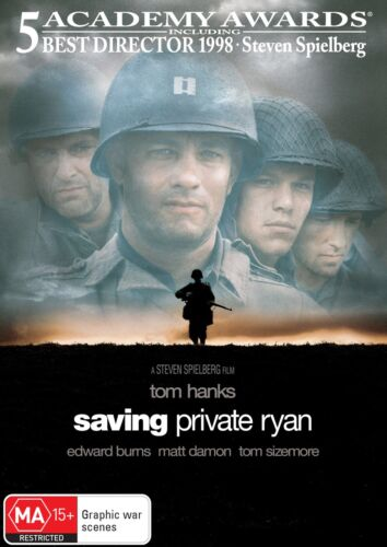 Saving Private Ryan DVD Region 4 NEW
