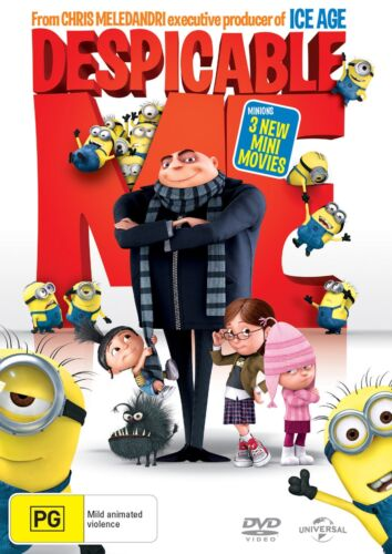 Despicable Me DVD Region 4 NEW