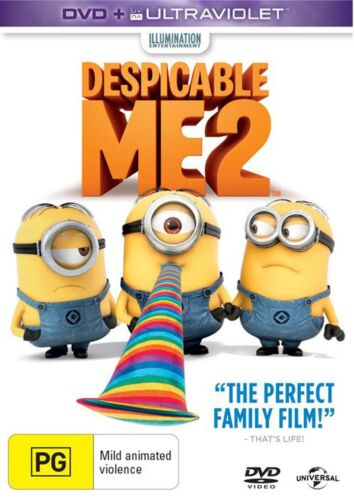 Despicable Me 2 DVD Region 4 NEW