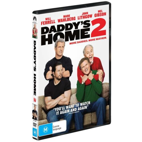 Daddys Home 2 DVD Region 4 NEW