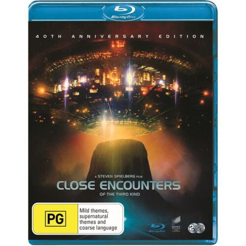 Close Encounters of the Third Kind Directors Cut Blu-ray Region B NEW