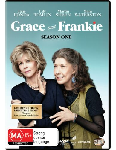 Grace and Frankie Season 1 Series One DVD Region 4 NEW