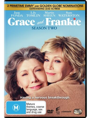 Grace and Frankie Season 2 Series Two DVD Region 4 NEW