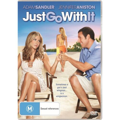 Just Go With It DVD Region 4 NEW