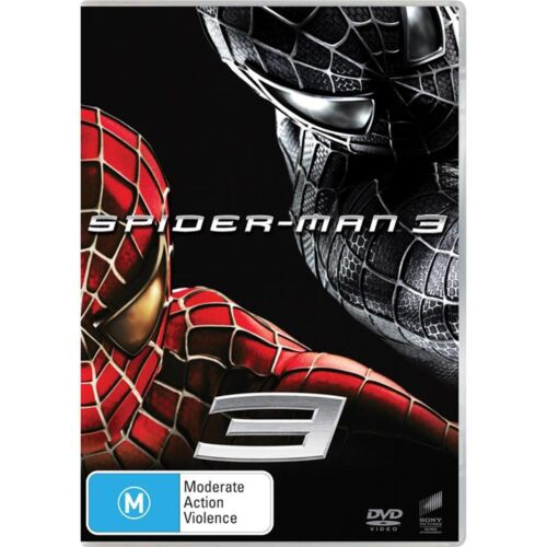 Spider Man 3 DVD Region 4 NEW