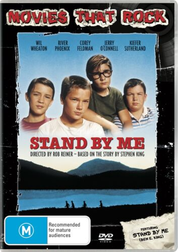 Stand By Me DVD Region 4 NEW