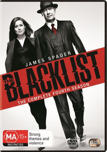 The Blacklist The Complete Fourth Season 4 Series Four DVD Region 4 NEW