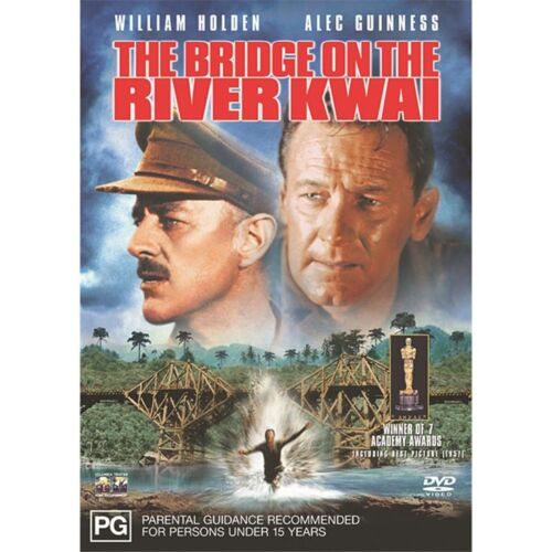 The Bridge On the River Kwai DVD Region 4 NEW