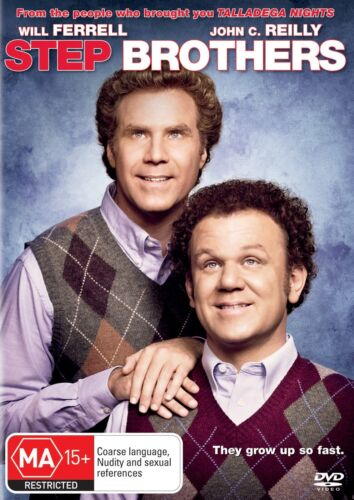 Step Brothers DVD Region 4 NEW