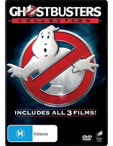 Ghostbusters 1-3 Collection DVD Region 4 NEW
