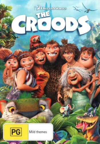 The Croods DVD Region 4 NEW