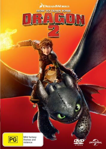 How to Train Your Dragon 2 DVD Region 4 NEW
