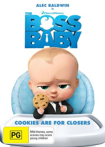 The Boss Baby DVD Region 4 NEW