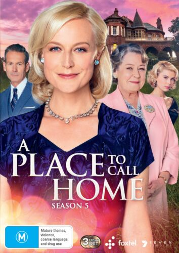 A Place to Call Home Series 5 Season Five Box Set DVD Region 4 NEW