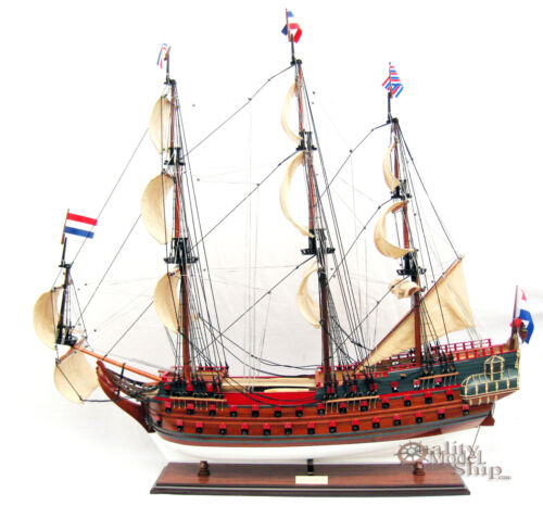 Zeven Provincien Display Wooden Ship Model