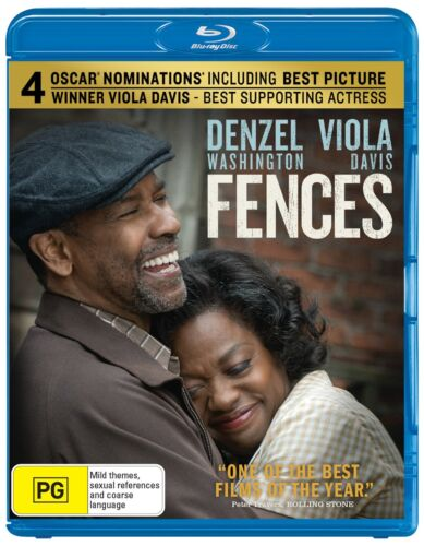 Fences Blu-ray Region B NEW