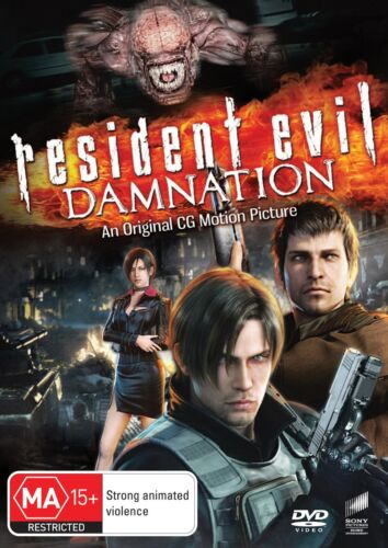 Resident Evil Damnation DVD Region 4 NEW