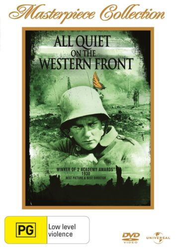 All Quiet On the Western Front DVD Region 4 NEW
