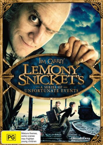 Lemony Snickets a Series of Unfortunate Events DVD Region 4 NEW