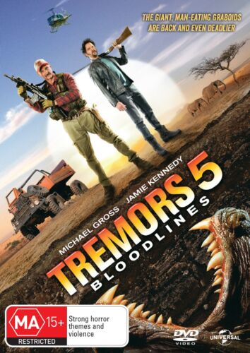 Tremors 5 Bloodlines DVD Region 4 NEW