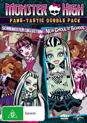 Monster High Scaremester Collection / New Ghoul at School DVD Region 4 NEW
