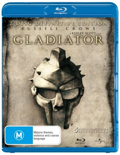 Gladiator Blu-ray Region B NEW