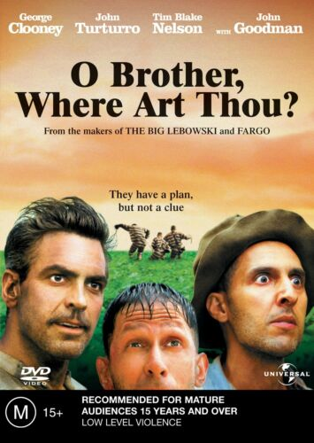 O Brother Where Art Thou DVD Region 4 NEW