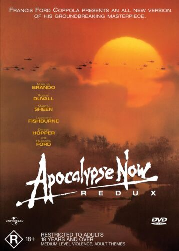 Apocalypse Now Redux DVD Region 4 NEW