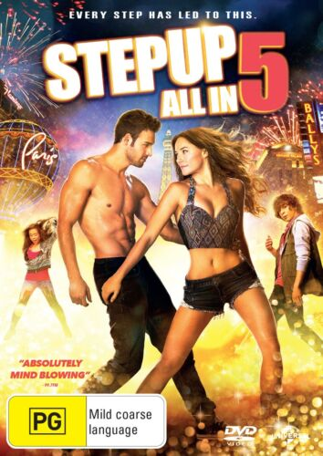Step Up 5 All In DVD Region 4 NEW