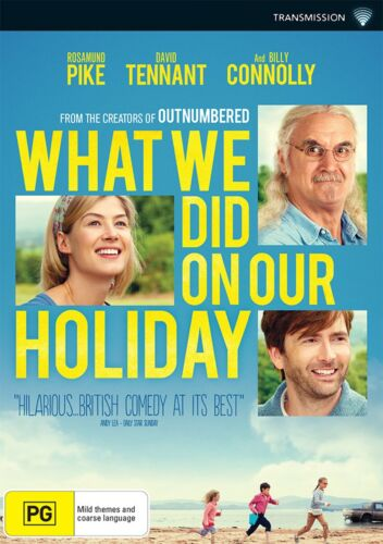 What We Did On Our Holiday DVD Region 4 NEW