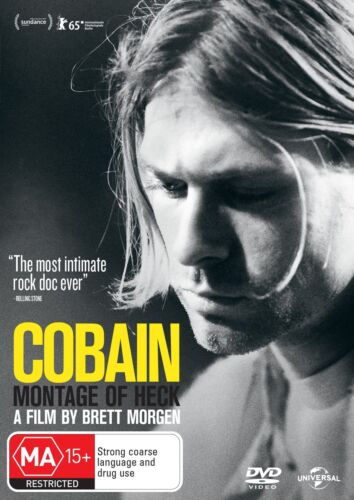 Kurt Cobain Montage of Heck DVD Region 4 NEW