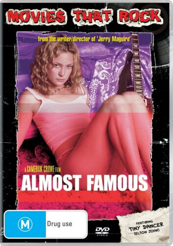 Almost Famous DVD Region 4 NEW