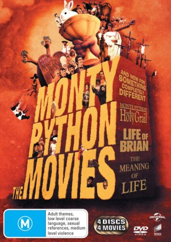 Monty Python The Movies DVD Region 4 NEW