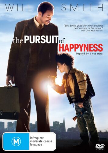 The Pursuit of Happyness DVD Region 4 NEW