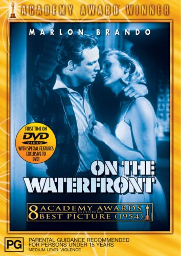 On the Waterfront DVD Region 4 NEW