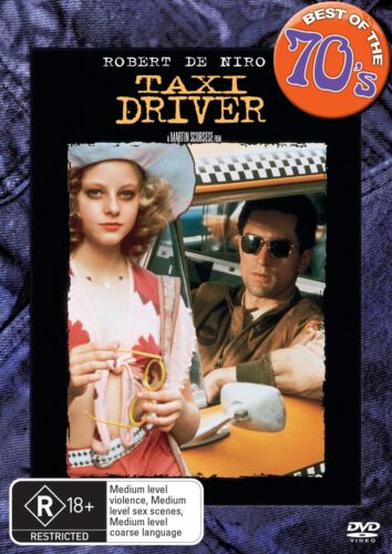 Taxi Driver DVD Region 4 NEW