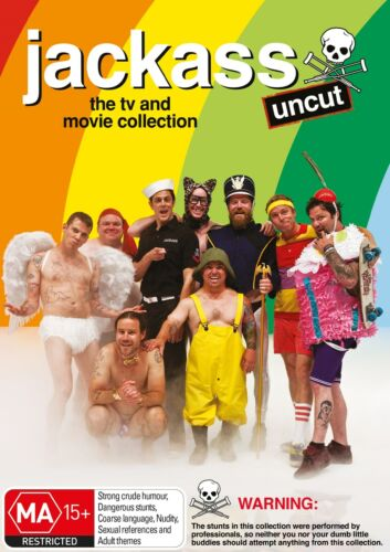 Jackass The TV and Movie Collection DVD Region 4 NEW