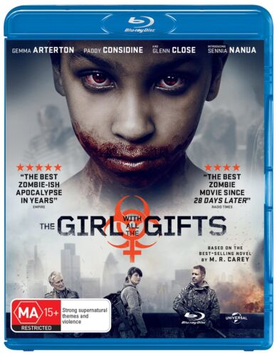 The Girl With All the Gifts Blu-ray Region B NEW