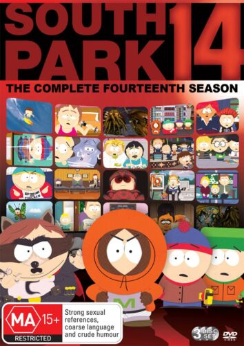 South Park Series 1 Season One4 DVD Region 4 NEW
