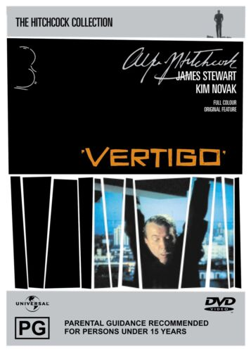 Vertigo DVD Region 4 NEW