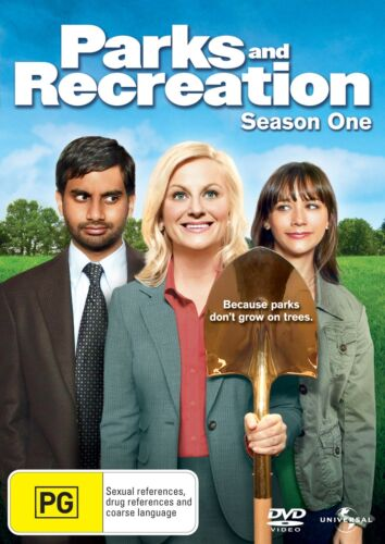 Parks and Recreation Season 1 Series One DVD Region 4 NEW