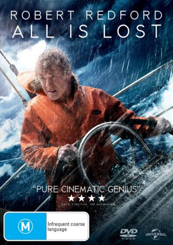 All Is Lost DVD Region 4 NEW