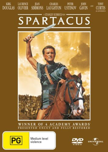 Spartacus DVD Region 4 NEW