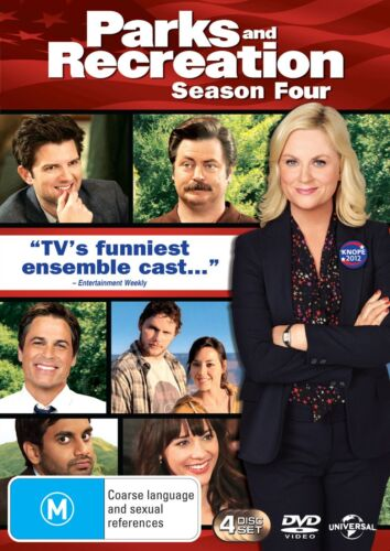 Parks and Recreation Season 4 Series Four DVD Region 4 NEW