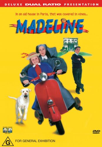 Madeline DVD Region 4 NEW