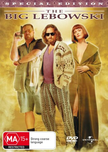 The Big Lebowski DVD Region 4 NEW